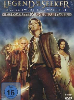 Legend of the Seeker. Staffel.2, 6 DVDs | Dodax.nl
