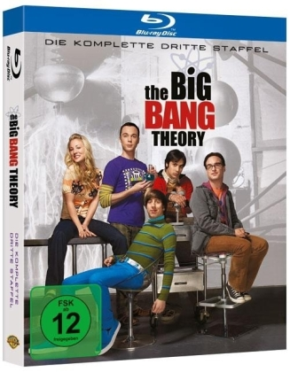 The Big Bang Theory. 3. Staffel, 2 Blu-rays | Dodax.at