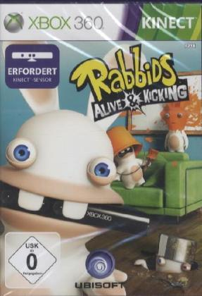 Rabbids, Alive and Kicking, Xbox360-DVD | Dodax.de
