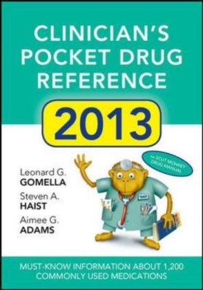 Clinician's Pocket Drug Reference | Dodax.at