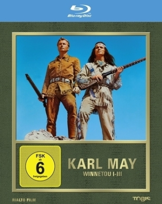 Winnetou I - III, 3 Blu-rays | Dodax.at