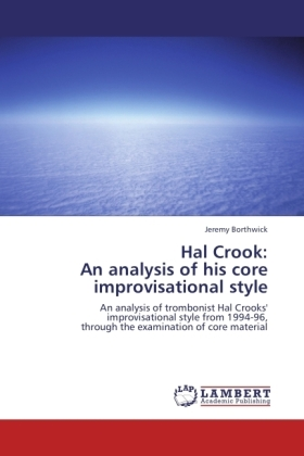 Hal Crook: An analysis of his core improvisational style | Dodax.pl