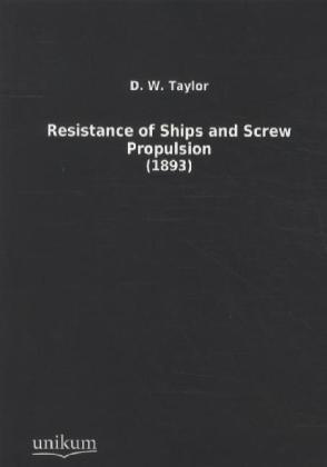 Resistance of Ships and Screw Propulsion | Dodax.pl