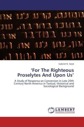 For The Righteous Proselytes And Upon Us | Dodax.pl