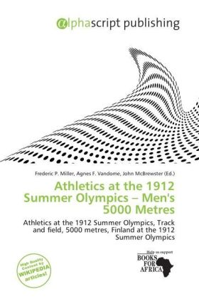 Athletics at the 1912 Summer Olympics - Men's 5000 Metres | Dodax.ch