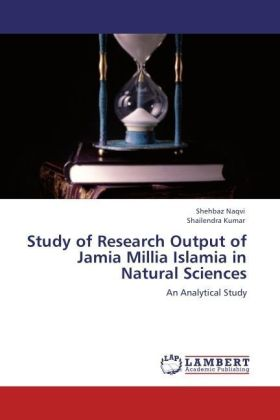 Study of Research Output of Jamia Millia Islamia in Natural Sciences   Dodax.at