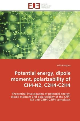 Potential energy, dipole moment, polarizability of CH4-N2, C2H4-C2H4 | Dodax.pl