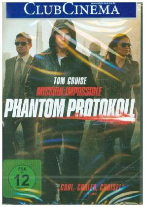 Mission: Impossible - Phantom Protokoll, 1 DVD | Dodax.es
