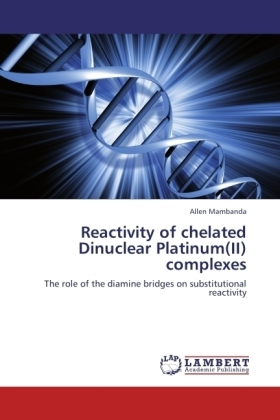 Reactivity of chelated Dinuclear Platinum(II) complexes | Dodax.pl