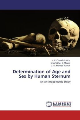 Determination of Age and Sex by Human Sternum | Dodax.de