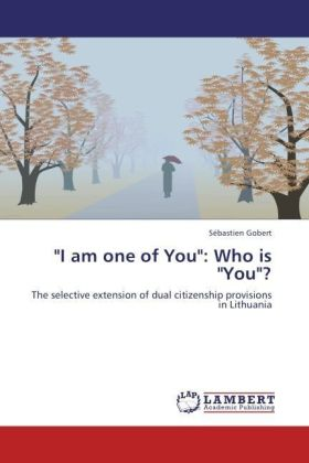 """I am one of You"": Who is ""You""? 