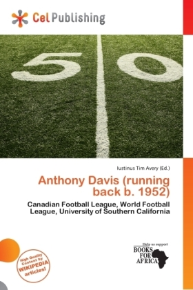 Anthony Davis (running back b. 1952) | Dodax.ch