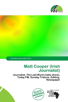 Matt Cooper (Irish Journalist) | Dodax.pl