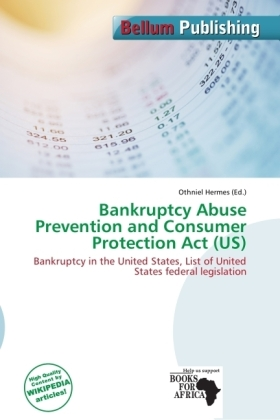 Bankruptcy Abuse Prevention and Consumer Protection Act (US) | Dodax.de