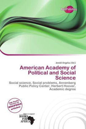 American Academy of Political and Social Science | Dodax.at