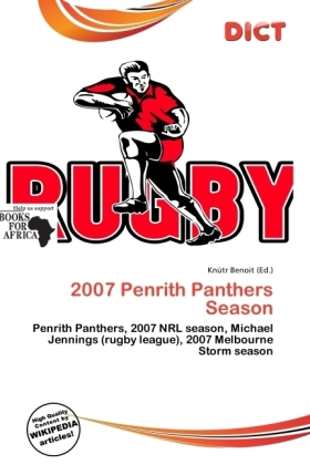 2007 Penrith Panthers Season | Dodax.ch