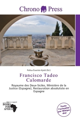 Francisco Tadeo Calomarde | Dodax.at