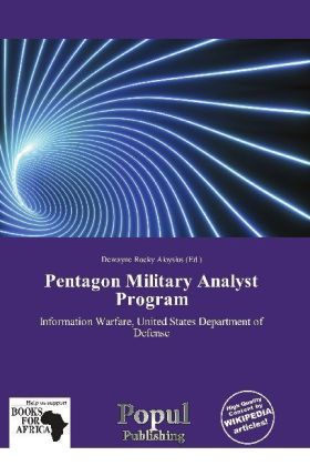 Pentagon Military Analyst Program | Dodax.de