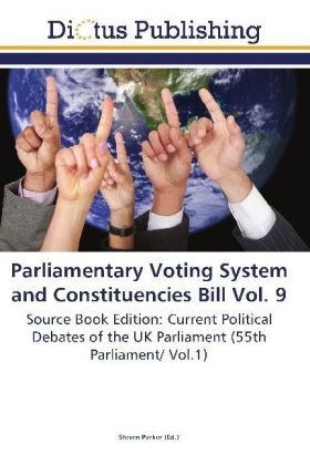 Parliamentary Voting System and Constituencies Bill Vol. 9 | Dodax.pl