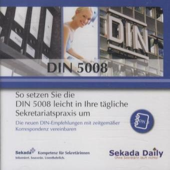 DIN 5008 - Die CD, CD-ROM | Dodax.at