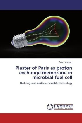 Plaster of Paris as proton exchange membrane in microbial fuel cell | Dodax.ch
