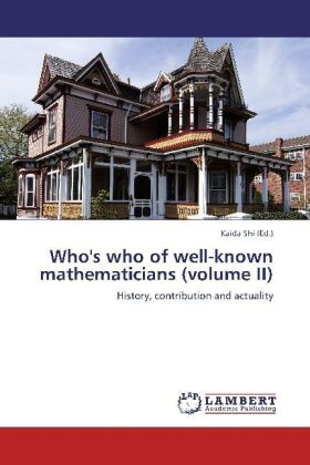 Who's who of well-known mathematicians (volume II) | Dodax.ch