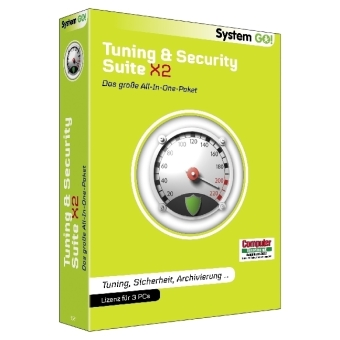System Go! Tuning & Security Suite X2, CD-ROM | Dodax.co.uk