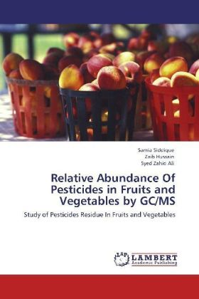 Relative Abundance Of Pesticides in Fruits and Vegetables by GC/MS | Dodax.ch