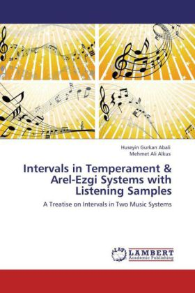 Intervals in Temperament & Arel-Ezgi Systems with Listening Samples | Dodax.ch