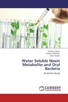 Water Soluble Neem Metabolite and Oral Bacteria | Dodax.ch