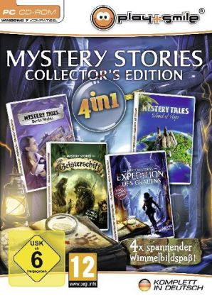 Mystery Stories, Collector's Edition, CD-ROM   Dodax.pl