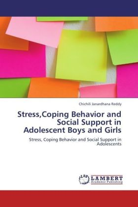 Stress,Coping Behavior and Social Support in Adolescent Boys and Girls   Dodax.ch