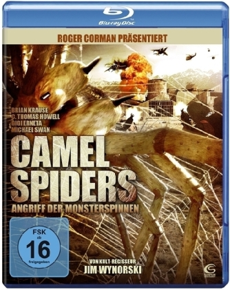 Camel Spiders - Angriff der Monsterspinnen, 1 Blu-ray | Dodax.fr