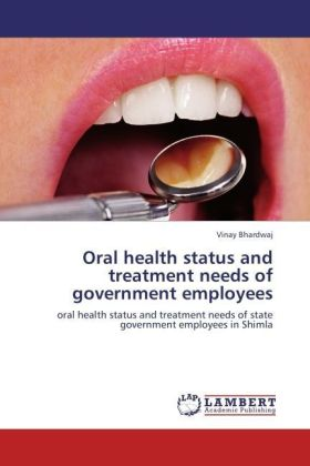Oral health status and treatment needs of government employees | Dodax.es