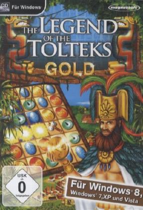 The Legend of the Tolteks Gold, CD-ROM | Dodax.ch