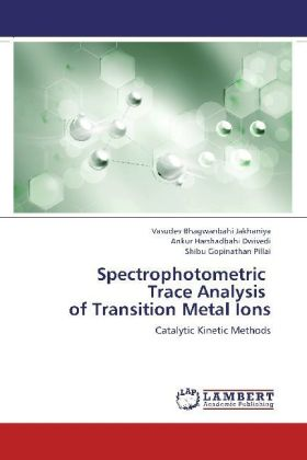 Spectrophotometric Trace Analysis of Transition Metal Ions | Dodax.at