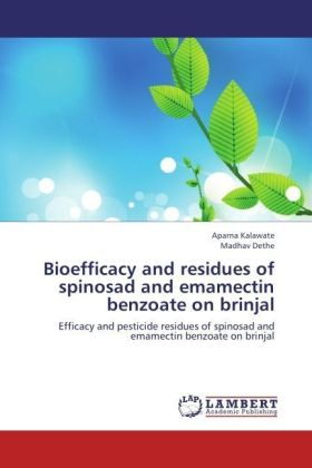 Bioefficacy and residues of spinosad and emamectin benzoate on brinjal | Dodax.fr