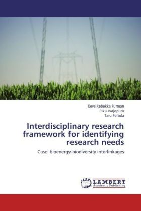 Interdisciplinary research framework for identifying research needs | Dodax.ch