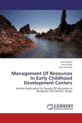 Management Of Resources In Early Childhood Development Centers | Dodax.ch