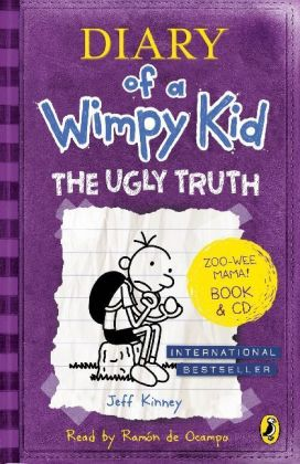 Diary of a Wimpy Kid - The Ugly Truth book, w. Audio-CD | Dodax.com