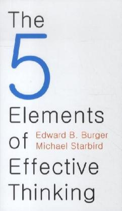 The 5 Elements of Effective Thinking | Dodax.pl