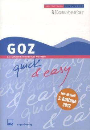 GOZ quick & easy | Dodax.de