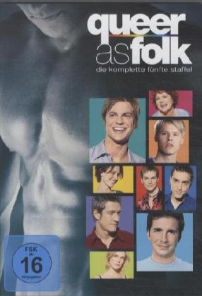 Queer as Folk. Staffel.5, 4 DVDs | Dodax.fr