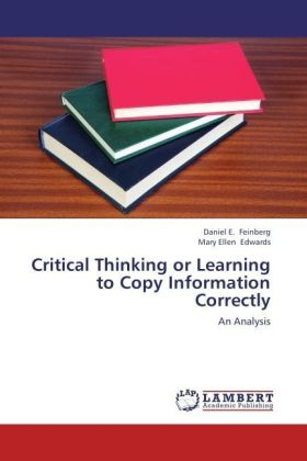 Critical Thinking or Learning to Copy Information Correctly | Dodax.de