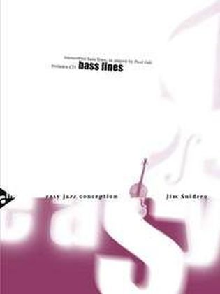 Easy Jazz Conception Bass Lines, Bass, w. Audio-CD | Dodax.nl