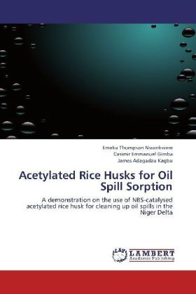 Acetylated Rice Husks for Oil Spill Sorption | Dodax.fr
