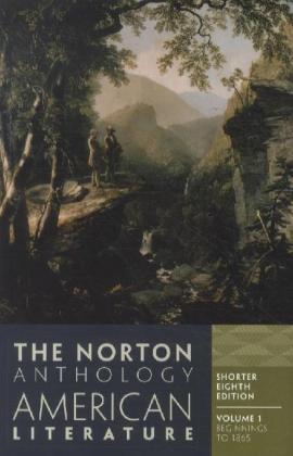 The Norton Anthology of American Literature (Shorter Eighth Edition). Vol.1 | Dodax.at