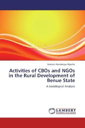 Activities of CBOs and NGOs in the Rural Development of Benue State | Dodax.fr