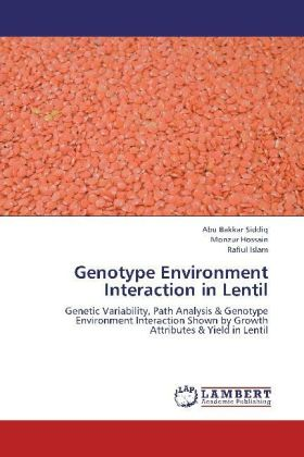 Genotype Environment Interaction in Lentil | Dodax.at