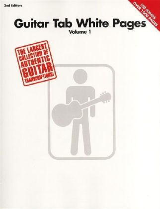 Guitar Tab White Pages - 2nd Edition | Dodax.pl